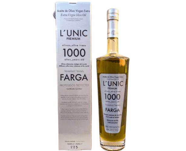 L´UNIC 1000 años con estuche aceite milenario