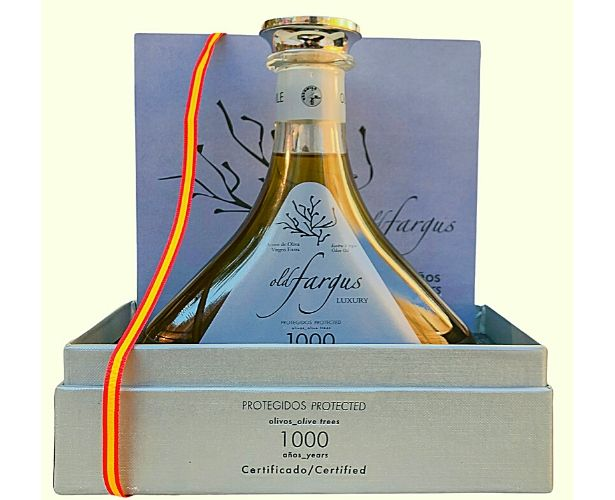 Oldfargus 1000 con estuche aceite farga milenaria
