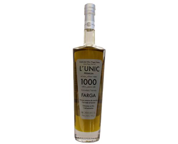 lunic 1000 años aceite farga milenario gourmet
