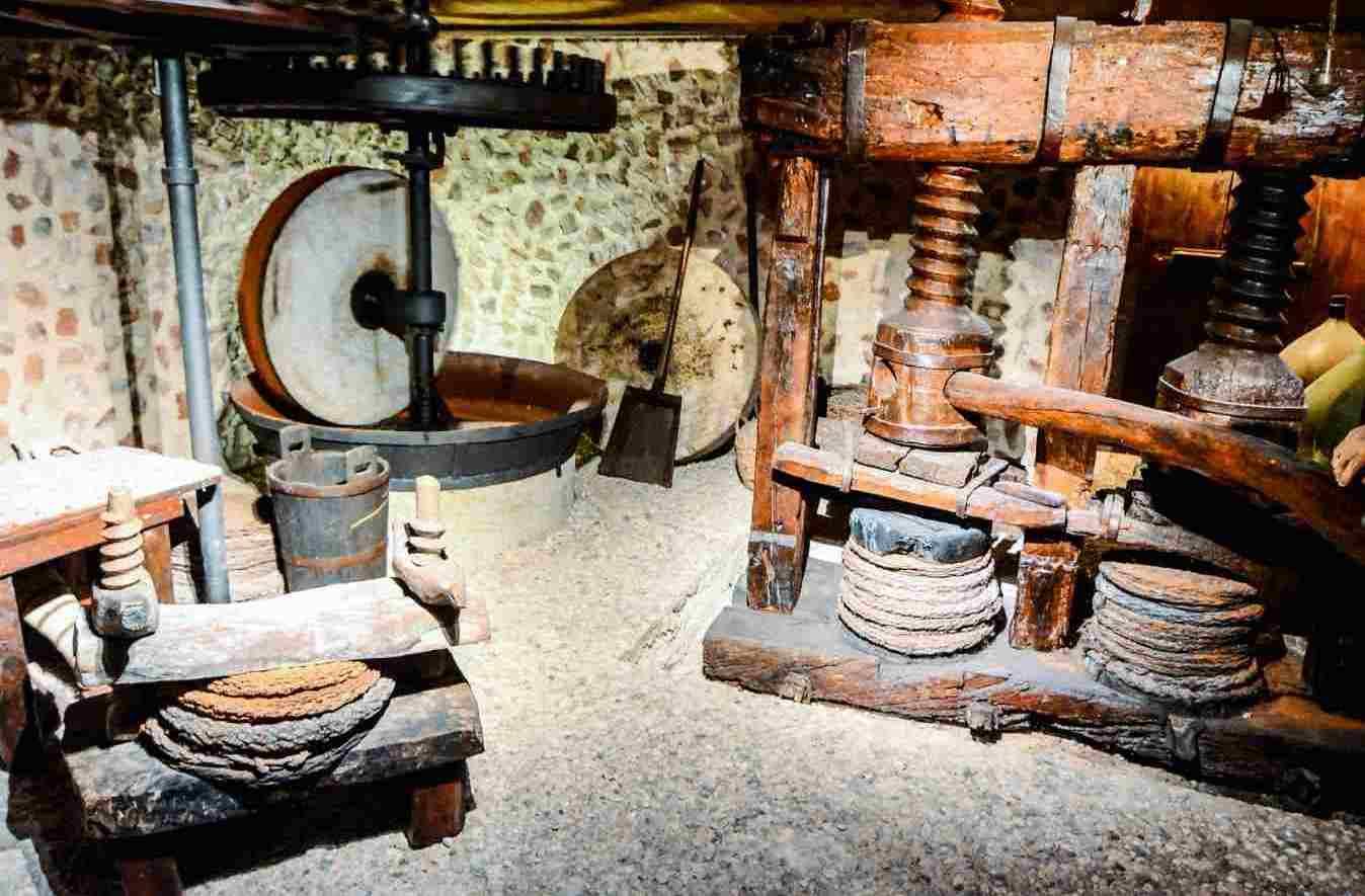 molino de aceitunas antiguo